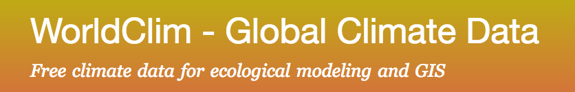 WorldClim datasets